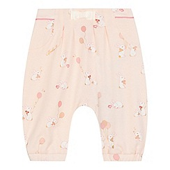 Baker by Ted Baker - Baby girls' pink bunny print harem leggings