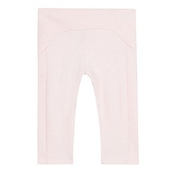 Baker by Ted Baker - Baby girls' light pink leggings