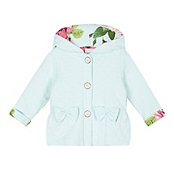 Baker by Ted Baker - Baby girls' aqua quilted jacket