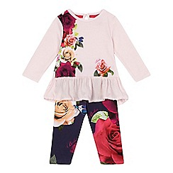 Baker by Ted Baker - Baby girls' top and leggings set