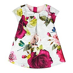 Baker by Ted Baker - Baby girls' rose print dress