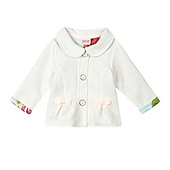 Baker by Ted Baker - Baby girls' off white quilted jacket