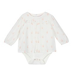 Baker by Ted Baker - Baby girls' off-white bodysuit