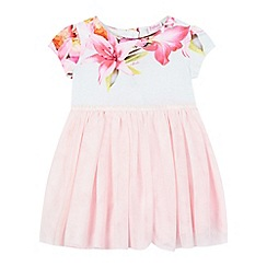 Baker by Ted Baker - Baby girls' light pink floral dress