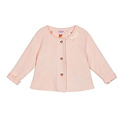 Baker by Ted Baker - Baby girls' pink rose jacquard jacket
