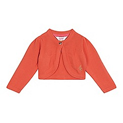 Baker by Ted Baker - Baby girls' orange cardigan