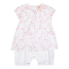 Baker by Ted Baker - Baby girls' white floral romper