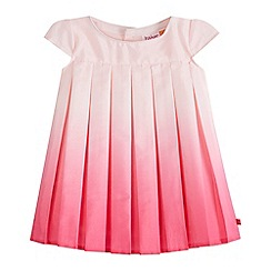 Baker by Ted Baker - Baby girls' pink ombre-effect pleated dress