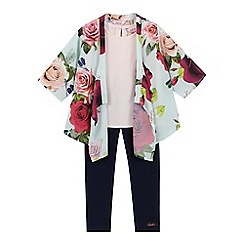 Baker by Ted Baker - Pack of two girls' assorted floral kimono set