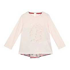 Baker by Ted Baker - Girls' light pink butterfly top