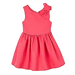 Baker by Ted Baker - Girls' pink textured dress