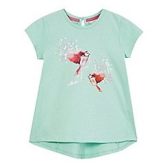 Baker by Ted Baker - Girls' pale green bird print diamante top