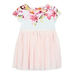 Baker by Ted Baker - Girls' light pink floral dress