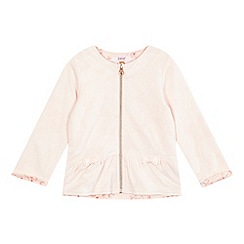 Baker by Ted Baker - Girls' pink rose print jacquard jacket