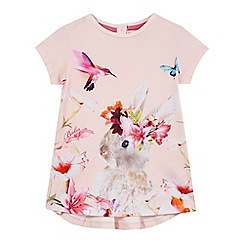 Baker by Ted Baker - Girls' pink bunny floral print top