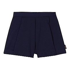 Baker by Ted Baker - Girls' navy pleated shorts