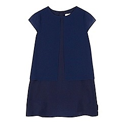 Baker by Ted Baker - Girls' navy layered tunic dress