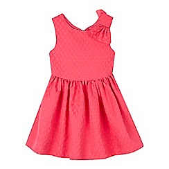 Baker by Ted Baker - Girls' bright pink textured dress