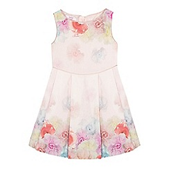 Baker by Ted Baker - Girls' pink floral dress