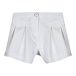 Baker by Ted Baker - Girls' white textured shorts