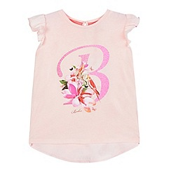 Baker by Ted Baker - Girls' light pink bird detail top