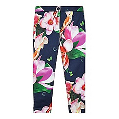 Baker by Ted Baker - Girls' multi-coloured floral print trousers