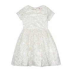 Baker by Ted Baker - Girls' off-white lace dress