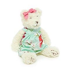 Baker by Ted Baker - Off white floral dress teddy bear