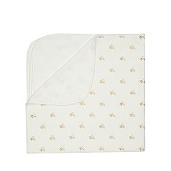 Baker by Ted Baker - Off white baker and bow blanket
