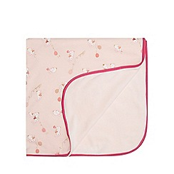 Baker by Ted Baker - Pink bunnies print blanket
