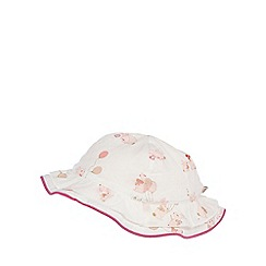 Baker by Ted Baker - Baby girls' white bunny print hat