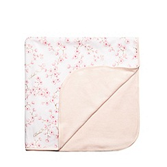 Baker by Ted Baker - Baby girls' pink blossom print blanket