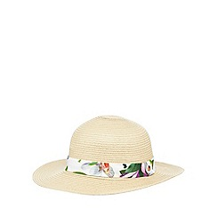 Baker by Ted Baker - Girls' beige straw hat