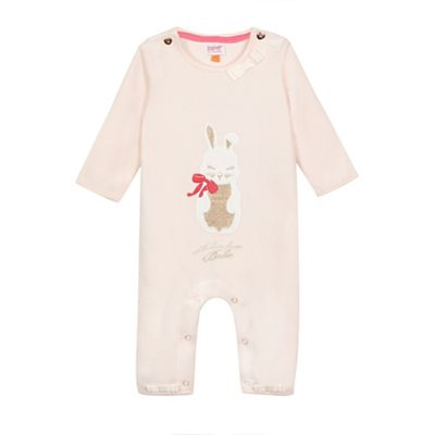 Baker by Ted Baker Baby girls light pink bunny applique
