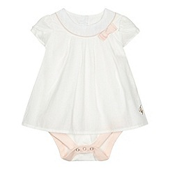 Baker by Ted Baker - Baby girls' off white jersey bodysuit