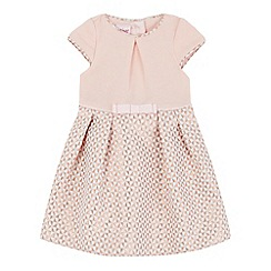 Baker by Ted Baker - Baby girls' pink textured square dress