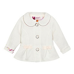 Baker by Ted Baker - Baby girls' cream quilted jacket