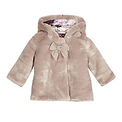 Baker by Ted Baker - Baby girls' pink fur coat
