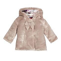 Baker by Ted Baker - Baby girls' pink fur coat