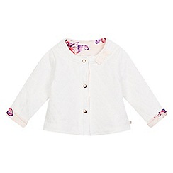Baker by Ted Baker - Baby girls' pink reversible jacket