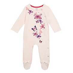 Baker by Ted Baker - Baby girls' floral print sleepsuit