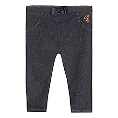 Baker by Ted Baker - Baby girls' dark blue denim jeggings