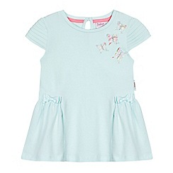 Baker by Ted Baker - Girls' light green butterfly applique top