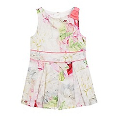 Baker by Ted Baker - Girls' multi-coloured floral print playsuit