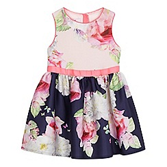 Baker by Ted Baker - Girls' multi-coloured floral print scuba dress