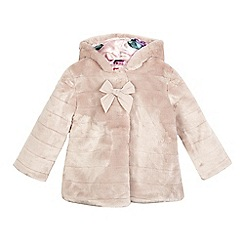 Baker by Ted Baker - Girls' purple faux fur coat