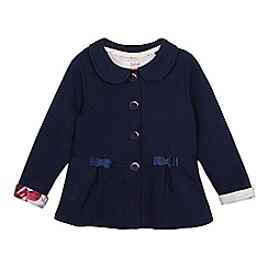 Baker by Ted Baker - Girls' navy quilted jacket