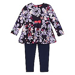 Baker by Ted Baker - Girls' floral print tunic and leggings set