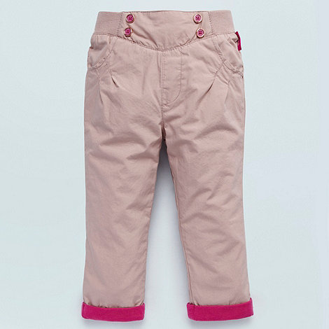 Baker by Ted Baker - Babies light pink casual turned up trousers