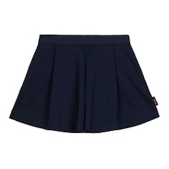 Baker by Ted Baker - Girls' navy ponte shorts